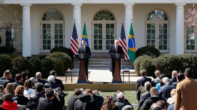 Apesar de relação estreita entre Trump e Bolsonaro, investimentos americanos no Brasil não aumentaram