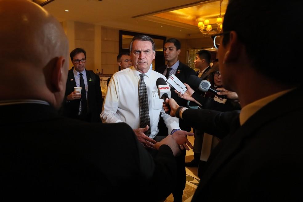 Bolsonaro diz que pode ser 'presidente sem partido'