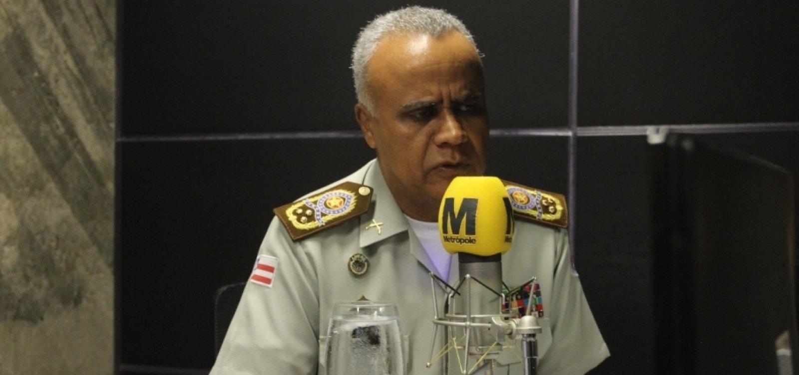 Comandante da PM nega paralisação de policiais militares baianos