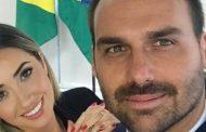 Heloísa Bolsonaro diz passar por 'perrengue' com salário de R$ 33 mil do marido, Eduardo