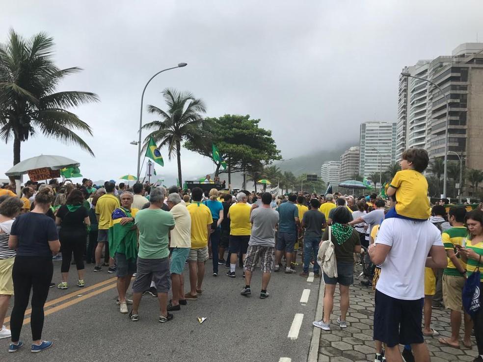 Cidades têm manifestações contra decisão do STF sobre prisão após condenação em segunda instância