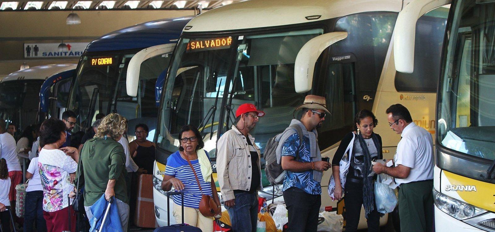 Número de cidades com transporte suspenso na Bahia chega a 310; Confira lista de municípios com transporte suspenso