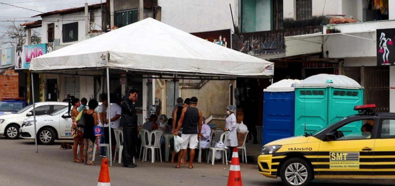 Feira de Santana adota medidas mais restritivas em mais três bairros neste final de semana