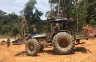 PF destrói maquinário usado em garimpo ilegal em terras indígenas no Pará