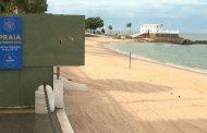 Após aglomerações neste domingo, ACM Neto anuncia nova interdição de praias