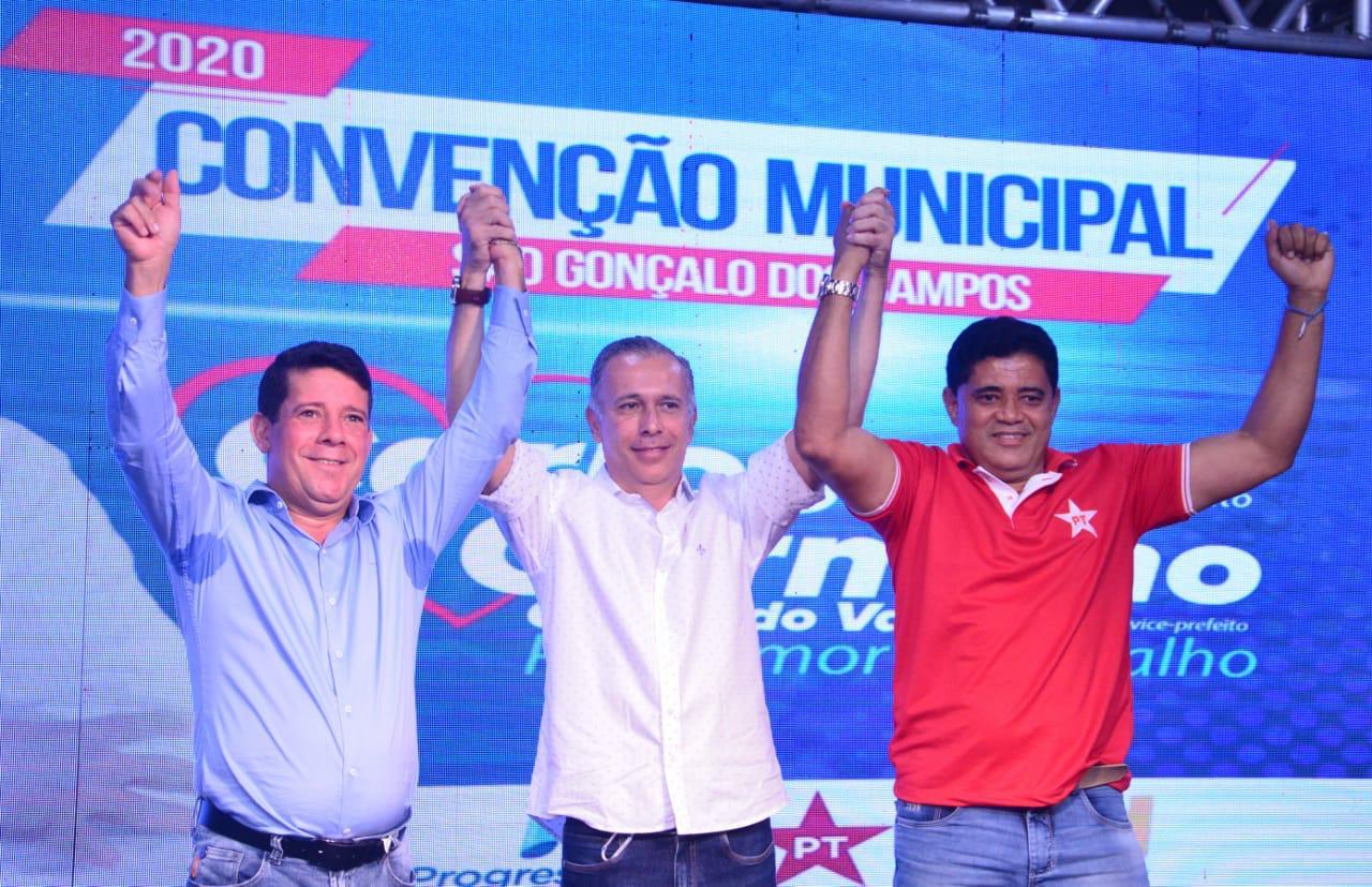 Convenção oficializa chapa de Carlos Germano e Cacau Do Vale  em São Gonçalo dos Campos