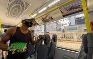 Ônibus articulado do BRT de Feira de Feira de Santana tem wi-fi e galeria com fotos da cidade