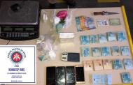 Ação conjunta apreende cocaína e R$ 15 mil em espécie