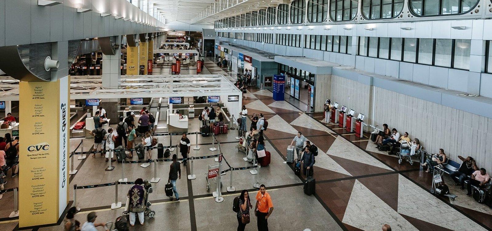 Aeroporto de Salvador pode ter embarque com reconhecimento facial