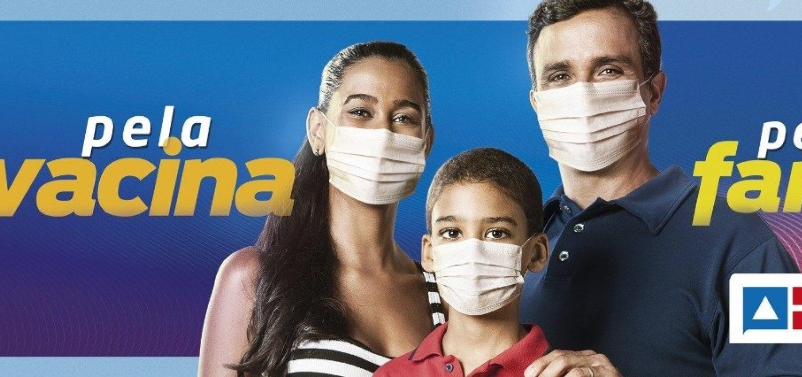 Governo da Bahia inicia campanha de vacinação contra a Covid-19