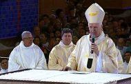 Em Aparecida, arcebispo diz que 'direita é violenta e injusta'