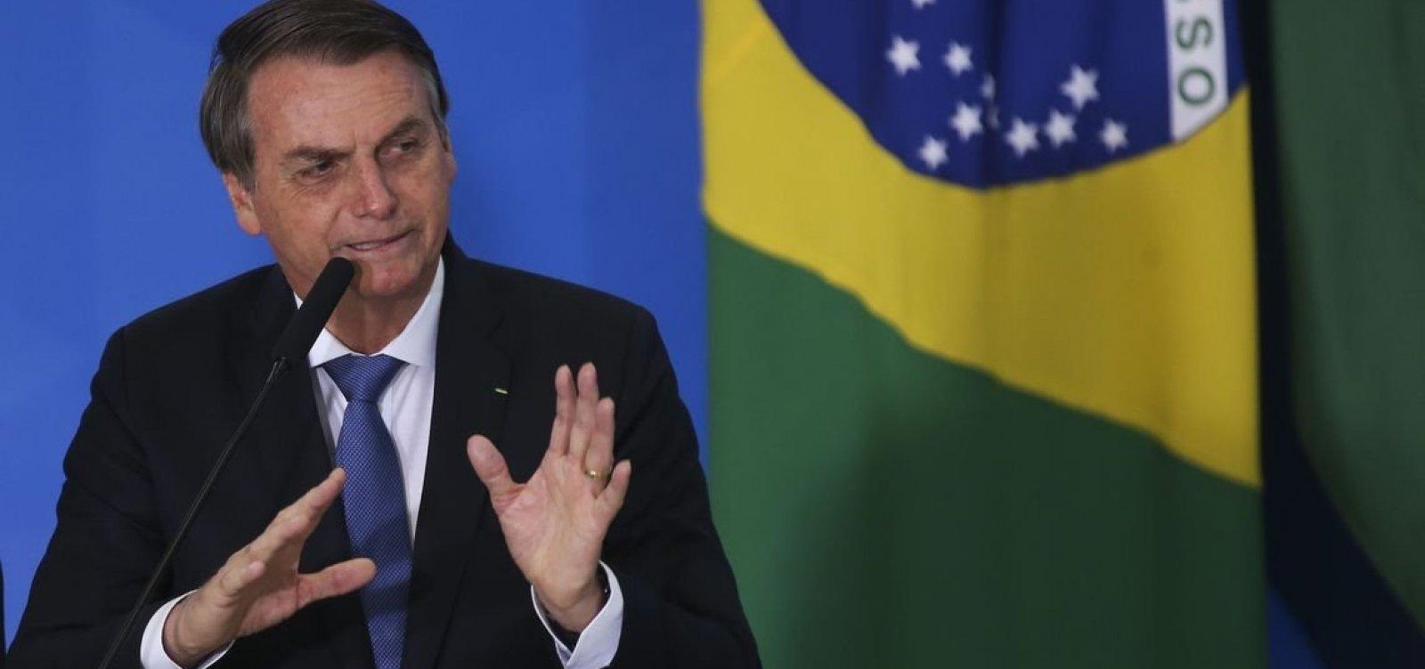 Bolsonaro assina MP e destina R$ 11,2 milhões para combate ao coronavírus