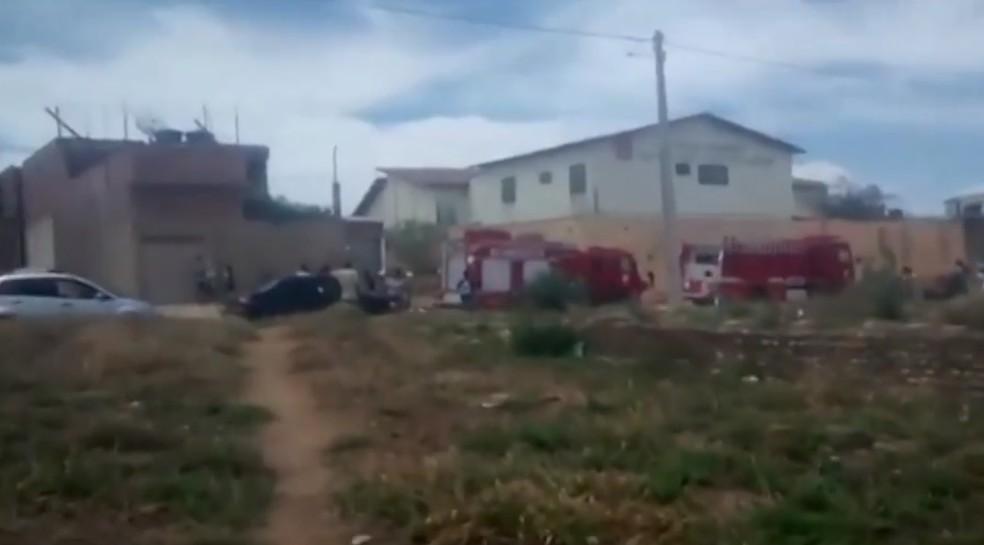 Explosão de gás assusta alunos de creche no sudoeste da Bahia