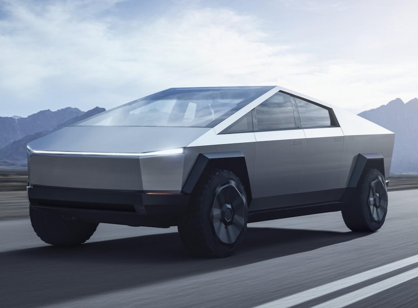 Tesla Cybertruck promete robustez de caminhão e desempenho de esportivo