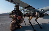 Cães-robôs da Força Aérea dos EUA mostram o futuro do campo de batalha