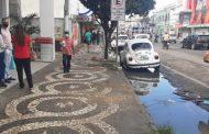 Prefeitura retira todas as barracas da Avenida Senhor dos Passos nesta quarta-feira (23)