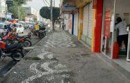 Lojistas e clientes aprovam a remoção de barracas no centro comercial de Feira de Santana