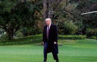 'Indo bem, eu acho', diz Trump em hospital militar