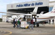 Aeronaves fazem distribuição de vacinas pelo interior da Bahia